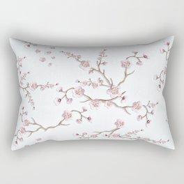 SAKURA LOVE - GRUNGE WHITE Rectangular Pillow
