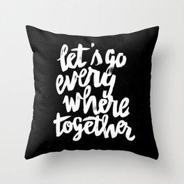 Everywhere Throw Pillow