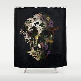 Spring Skull 2 Shower Curtain