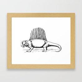 Dimetrodon Framed Art Print