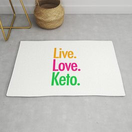 Live Love Keto Rug