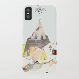 Kids Discover Magic Mountain iPhone Case