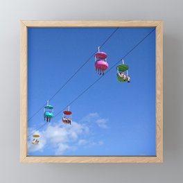 candy necklace Framed Mini Art Print