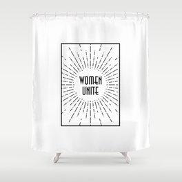 Women Unite Shower Curtain