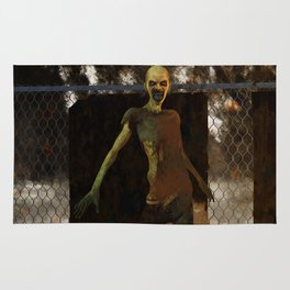 Zombie - Undead Horror Artwork Rug