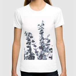 Blue Eucalyptus Leaves T-shirt