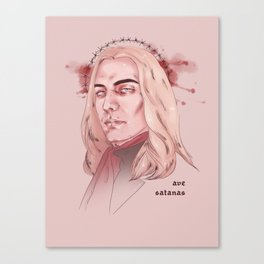 Hail Satan Canvas Print