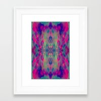prism Framed Art Prints featuring Prism by Amy Sia