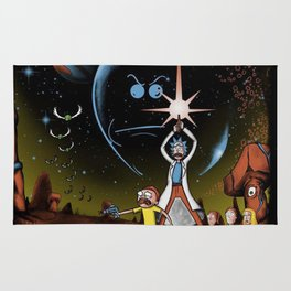 Multiverse Wars morty Rug