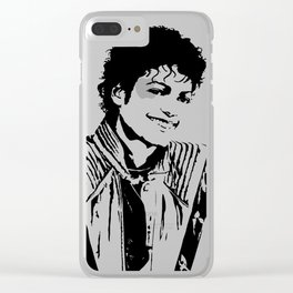 Michael MJ Jackson Thriller Clear iPhone Case