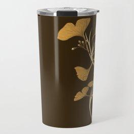 Gingko, Golden Life Travel Mug