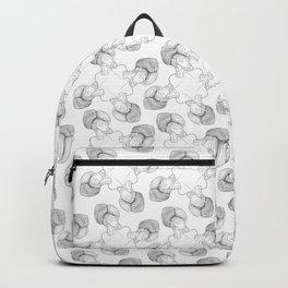 tesla in a turban tessellation Backpack