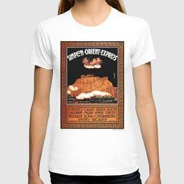 Simplon Orient Express London Athens T-shirt