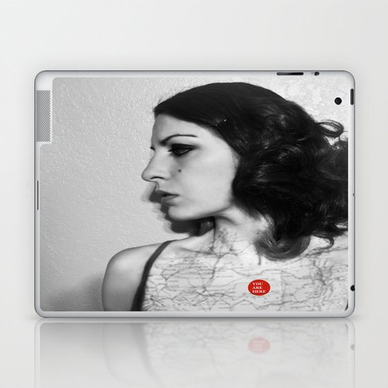 You are here in my heart Laptop & iPad Skin