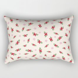 Floral day Rectangular Pillow