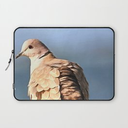 Artistic Ring Necked Dove Laptop Sleeve