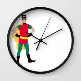 Kittenboy Blaine Wall Clock