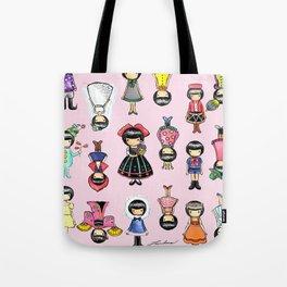 Girly Tote Bag
