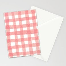 Gingham Watermelon Stationery Cards