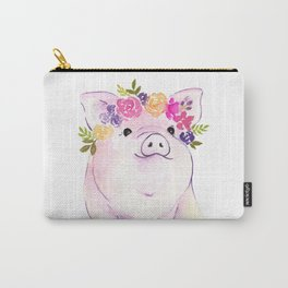 Piglet watercolor Carry-All Pouch