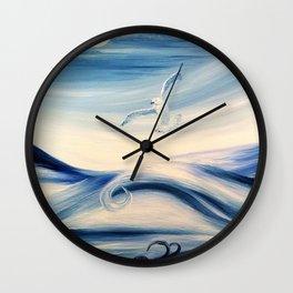 Danser dans la tempête Wall Clock