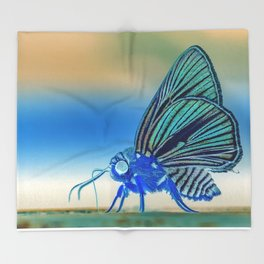 Azul Mothra Throw Blanket