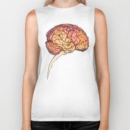 Brain Biker Tank