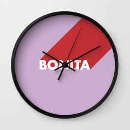 BONITA Pink Lavender Wall Clock