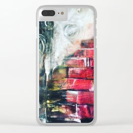 Flooded Brick Clear iPhone Case