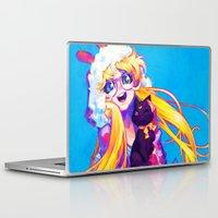 barachan Laptop & iPad Skins featuring bunny by barachan