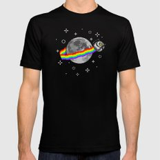 Nyan Space Core MEDIUM Mens Fitted Tee Black