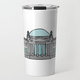 Reichstag building in Berlin Travel Mug