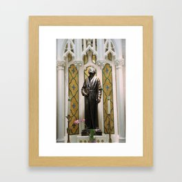 St. Patrick's Cathedral in Manhattan - St. Jude Framed Art Print