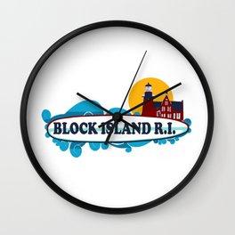 Block Island - Rhode Island. Wall Clock