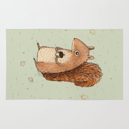 Sarah the Squirrel Rug