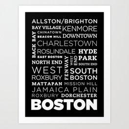 City of Neighborhoods - I Art Print