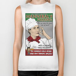 Hannibal's Pizzeria Biker Tank