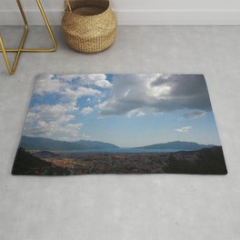 Sunshine, Clouds and Shadows Over The Bay Of Marmaris Rug
