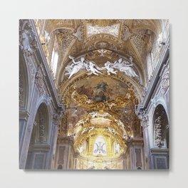 Santa Maria dell'Orto Church, Rome, Italy Metal Print