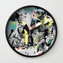 What used to be my mind ,is now my reality. Wall Clock