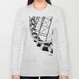 Going Up On The Big Wheel Long Sleeve T-shirt