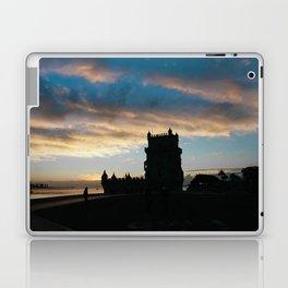 Blue sky Lisbon Laptop & iPad Skin
