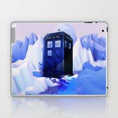 TARDIS SNOW Laptop & iPad Skin