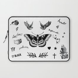 Harry's Tattoos Two Laptop Sleeve