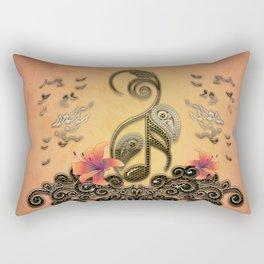 Key notes Rectangular Pillow
