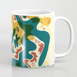 Abstract Doodle - Reason of Life Coffee Mug
