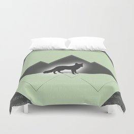 The Story of the Fox Duvet Cover
