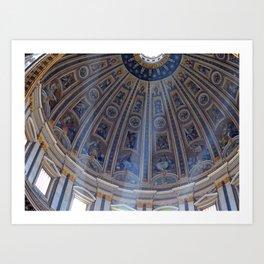 St. Peter's Basilica Art Print