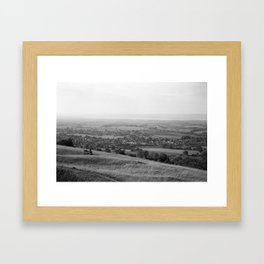 A View From Selsley Framed Art Print