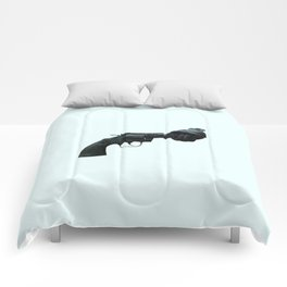 Non-violence Revolver Comforters